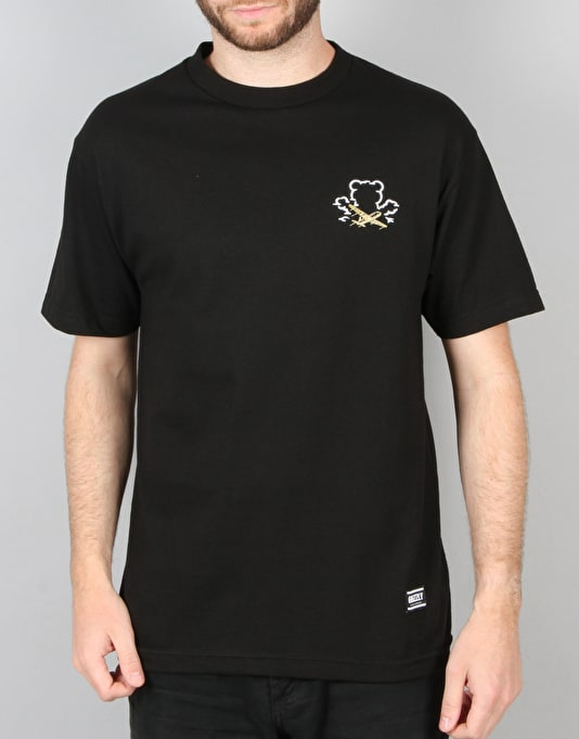 Grizzly x Benny Gold Stay Grizzly T-Shirt - Black
