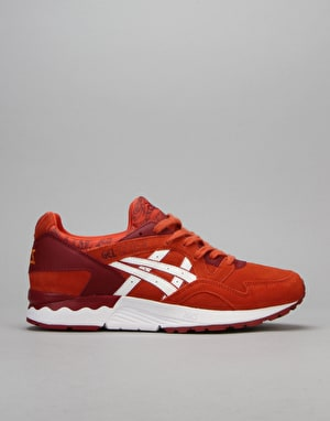 Asics Gel-Lyte V Shoes - Chilli/White