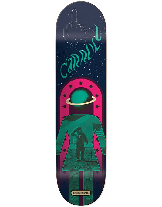 Girl Carroll Fillmore Pro Deck - 8.125""