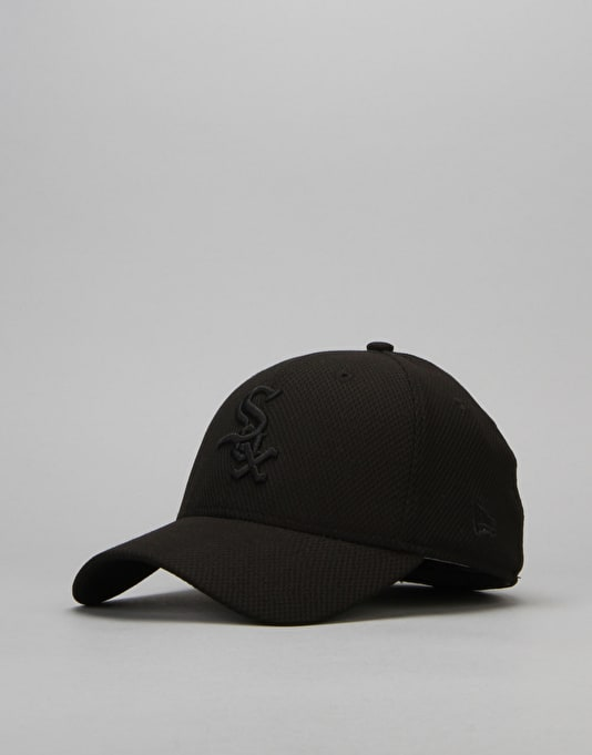 New Era MLB Chicago White Sox Stretch Diamond Core Cap - Black