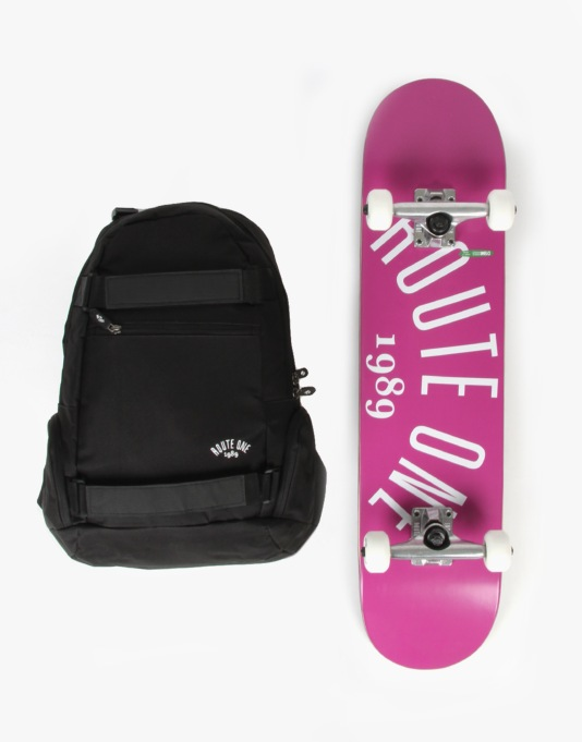 "Route One Arch Logo Complete Gift Pack - 7.5"" (Mellow Concave)"