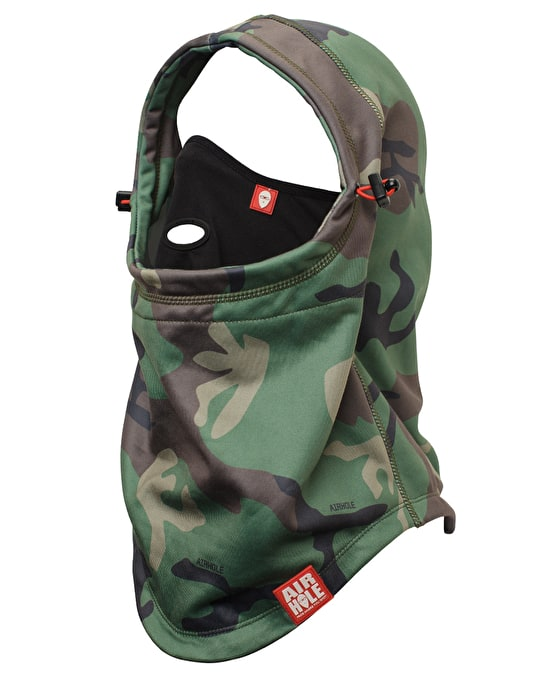 Airhole Airhood 2016 Facemask - Woodland