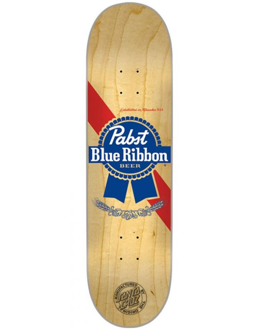 Santa Cruz x PBR Cold One Two Team Deck - 8.25""