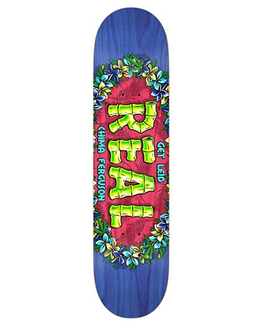 Real Chima Get Lei'd Pro Oval Pro Deck - 8.38""