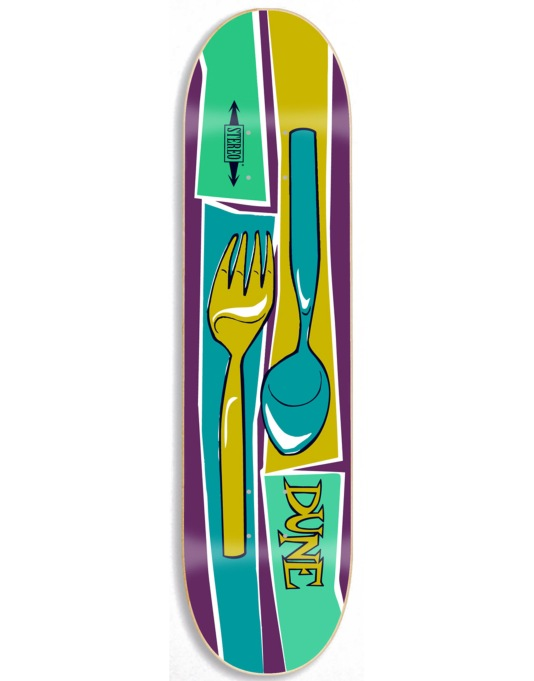 Stereo x Andy Jenkins Pastras Dune Fork Pro Deck - 7.75""