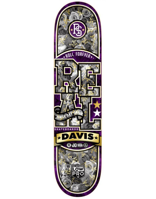 Real Torgerson Floral Low Pro II Pro Deck - 8.06""