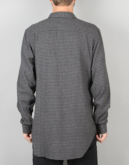 Globe Barkley L/S Shirt - Grey Marle