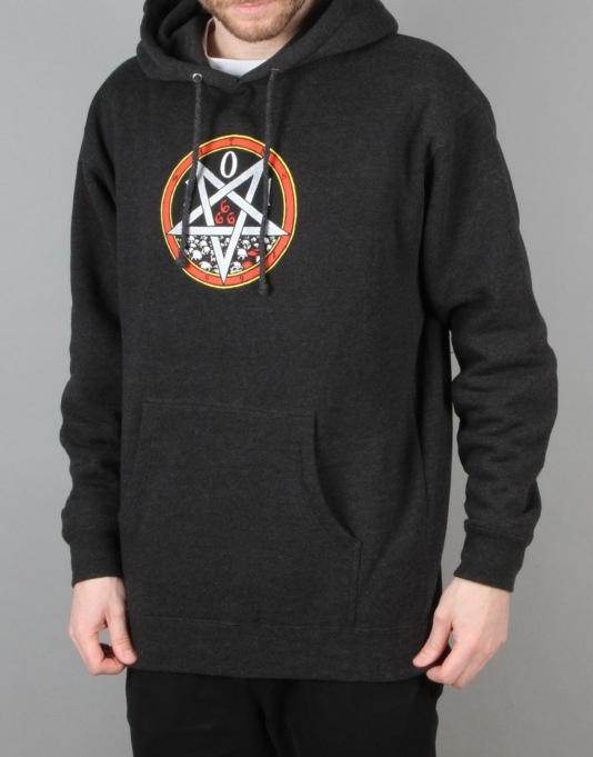 101 Heritage Devil Worship Pullover Hoodie - Charcoal Heather