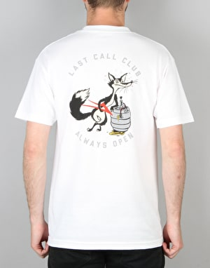 Lakai Last Call T-Shirt - White