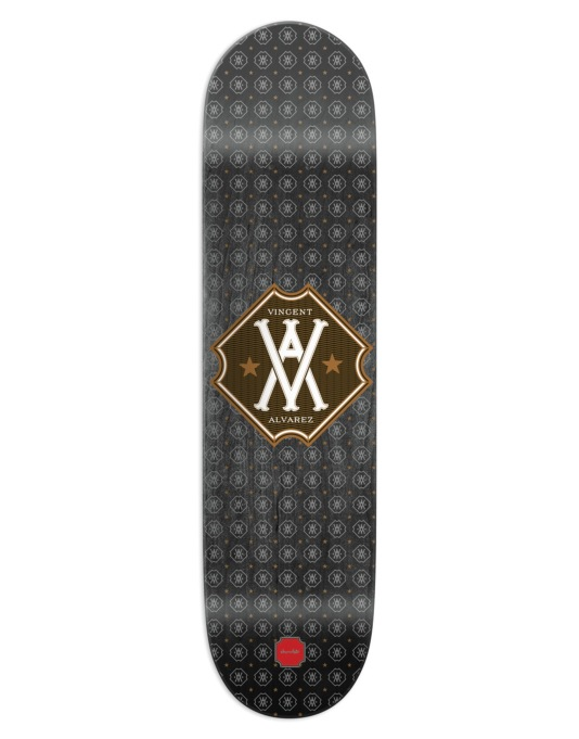 Chocolate Alvarez Monogram Pro Deck - 8.25""