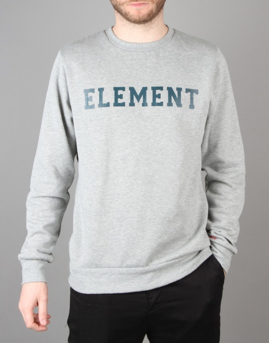 Element High School Crew - Grey Heather