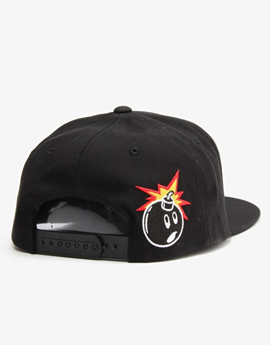 The Hundreds Markers Snapback Cap - Black