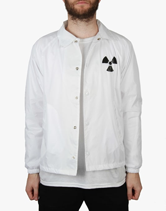 The Hundreds x Back to the Future Doc's Coach Jacket - White
