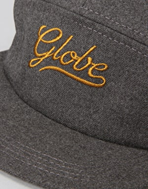 Globe Longmore 5 Panel Cap - Black