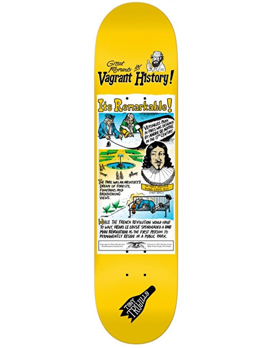 Anti Hero Trujillo Vagrant History Pro Deck - 8.06""