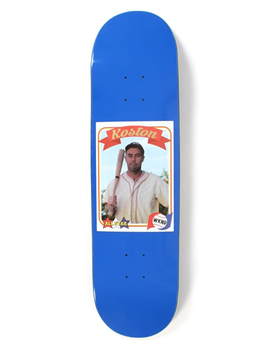 WKND Koston Trading Card Guest Pro Deck - 8.38""