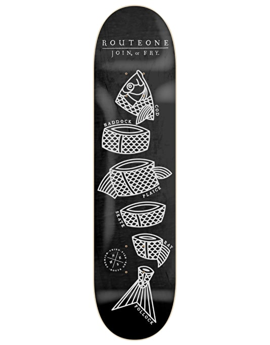 Route One Join or Fry Team Deck - 8.25""