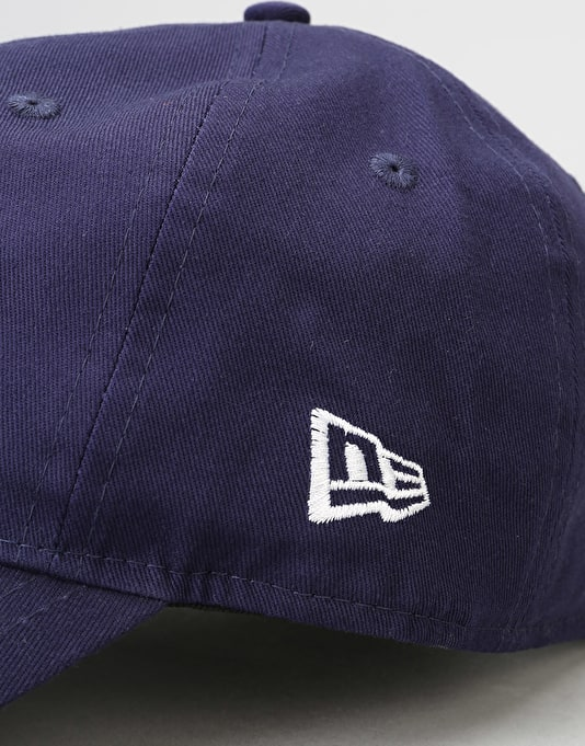 New Era 9Forty Unstructured Strapback Cap - Light Navy