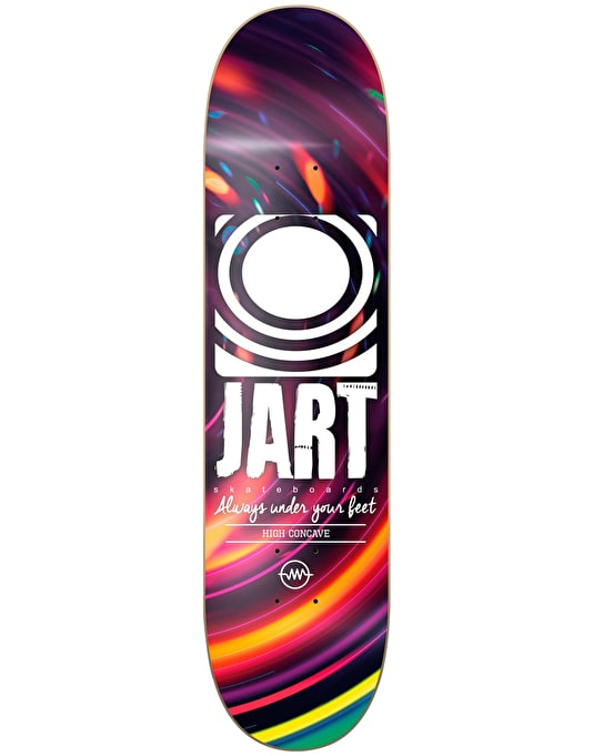 Jart Night Logo Team Deck - 8.5""