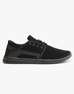 Etnies Scout Shoes - Black/Black/Black