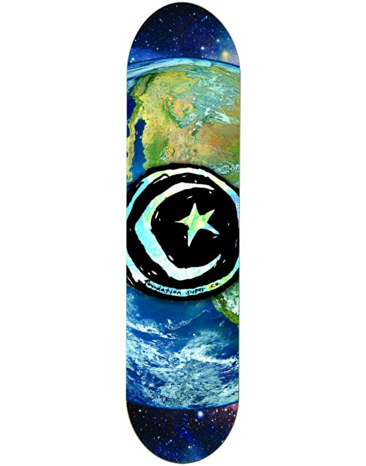 Foundation Star & Moon Earth Team Deck - 8.375""