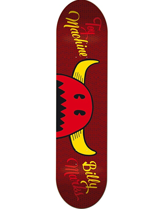 Toy Machine Marks Names Pro Deck - 8""
