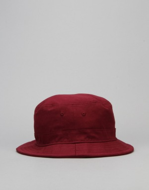 Route One Arch Logo Bucket Hat - Burgundy