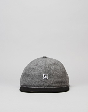 Obey Nineteen Eighty Nine 6 Panel Cap - Heather Grey/Black