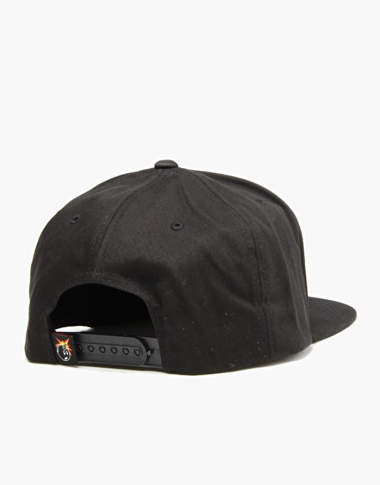 The Hundreds Culture Snapback Cap - Black