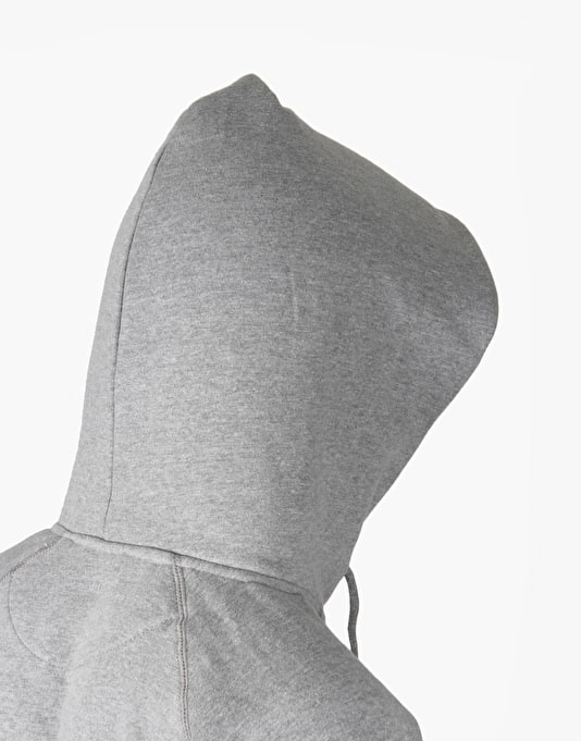The National Skateboard Co. Division Pullover Hoodie - Sport Grey