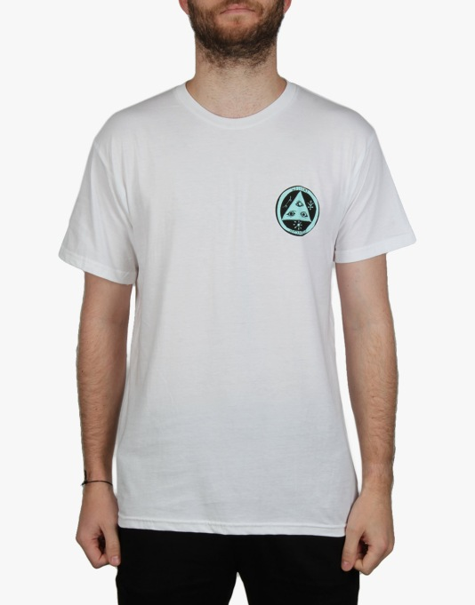 Welcome Triger T-Shirt - White/Teal
