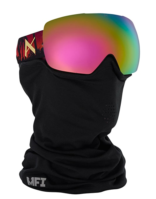 Anon Mig 2016 Snowboard Goggles - Don/Pink Cobalt
