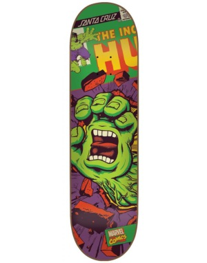 Santa Cruz x Marvel The Incredible Hulk Hand Team Deck - 8.26