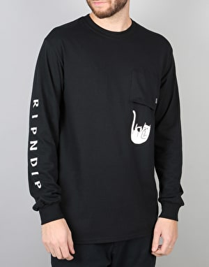 RIPNDIP Falling For Nermal L/S T-Shirt - Black