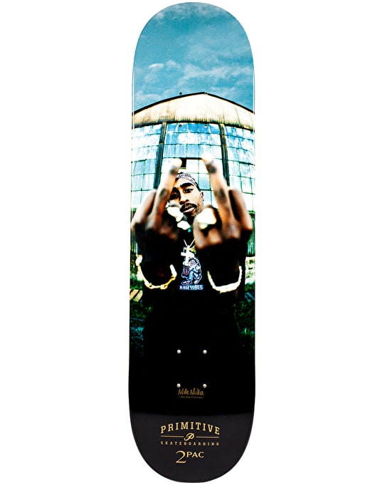 Primitive x Tupac Against the World Team Deck - 8.1""