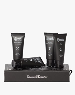 Triumph & Disaster On the Road Travel Kit/Gift Set