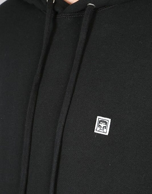 Obey Eighty Nine Pullover Hoodie - Black