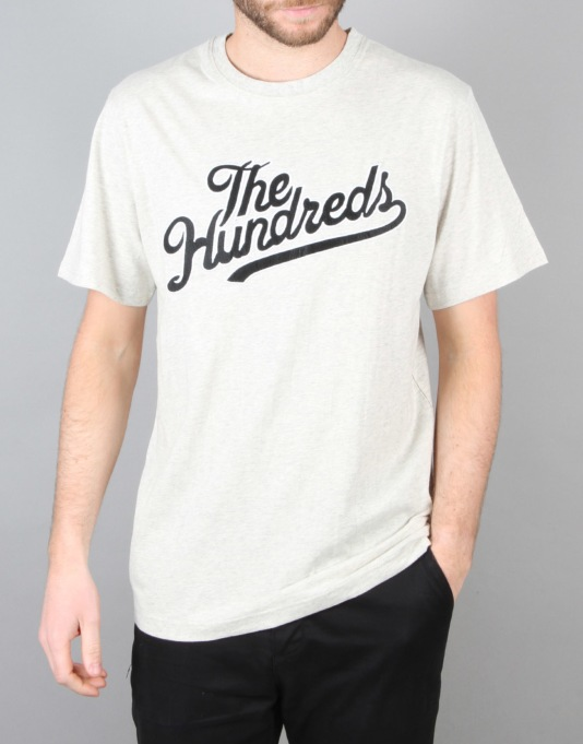 The Hundreds Mars T-Shirt - Ash Heather