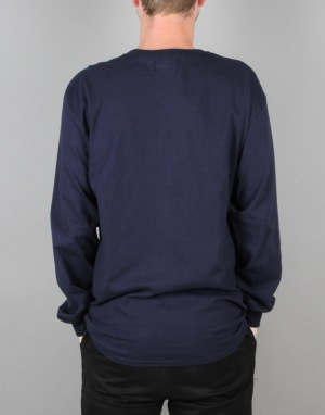 Route One Centaur LS T-Shirt - Navy