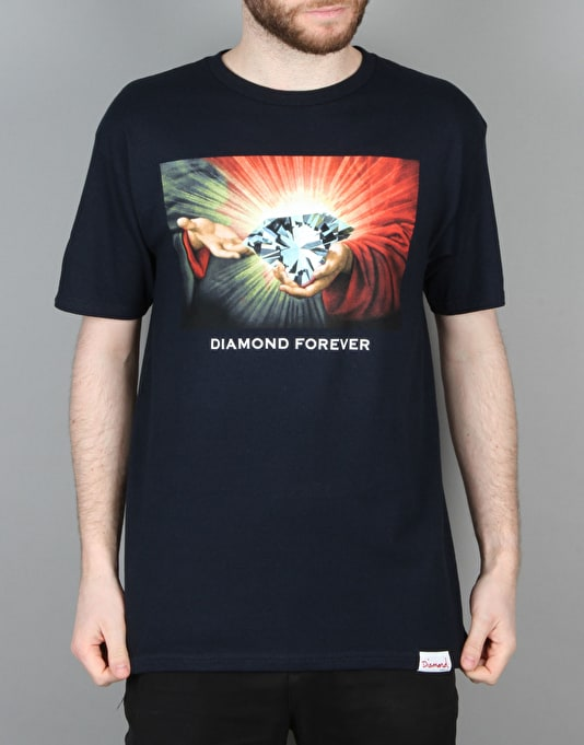 Diamond Supply Co. Forever '16 T-Shirt - Navy