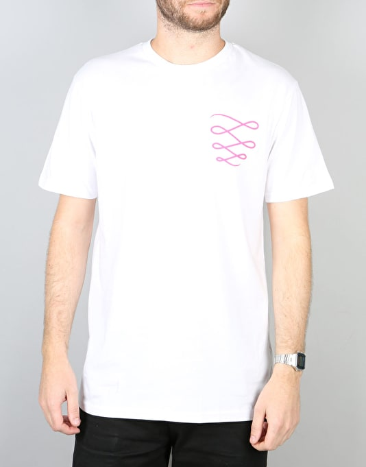 Descent OG T-Shirt - White/Pink