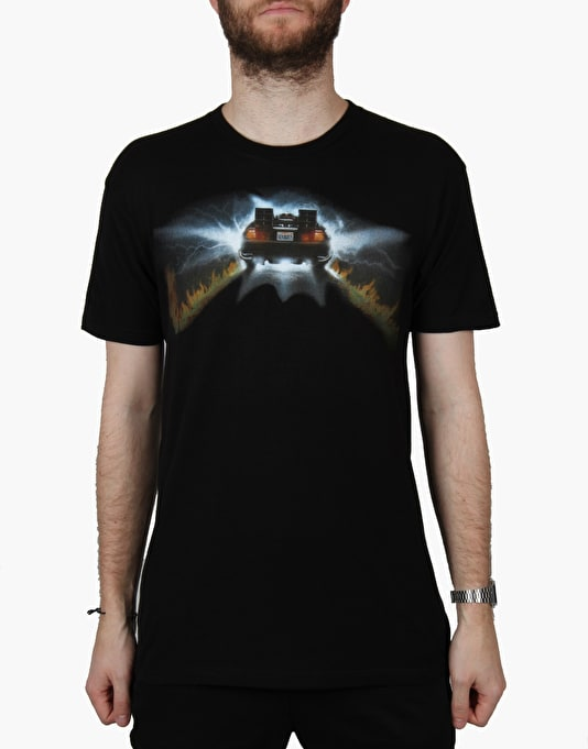 The Hundreds x Back to the Future 88 T-Shirt - Black