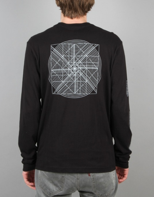 Altamont x Mogwai Music Industry L/S T-Shirt - Black