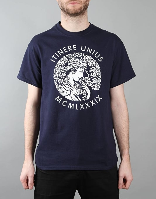 Route One Itinere T-Shirt - Navy