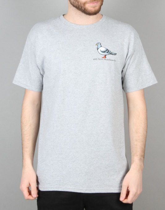 Anti Hero Lil Pigeon T-Shirt - Athletic Heather
