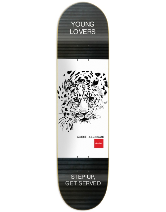 Chocolate Anderson Solitary Animals Pro Deck - 8.125""