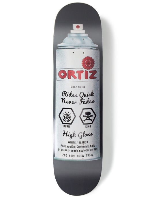 Zoo York Ortiz High Gloss Pro Deck - 8""