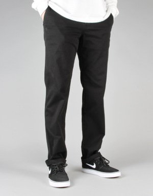 Element Howland Chinos - Flint Black