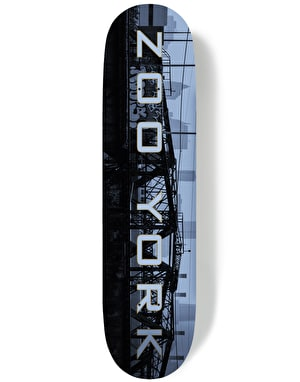 Zoo York Golden Era Metropolis Series - Infastructure Team Deck - 8