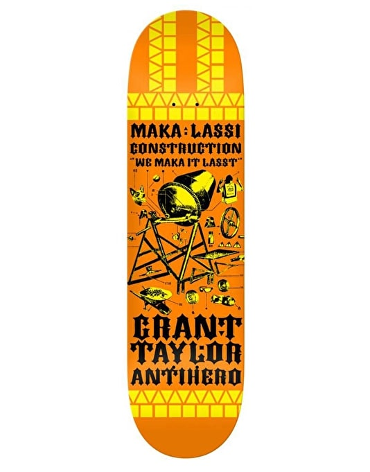 Anti Hero Taylor Maka:Lassi Pro Deck - 8.5""